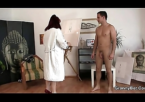That babe enjoys riding his young meat