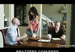 Slutty busty MILF Diana Prince copulates her son'_s code of practice recruiter