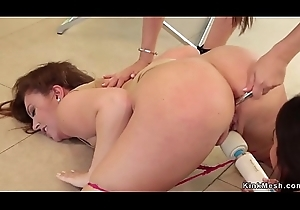 Tribade nabob anal toys and fists babes