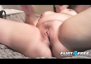 Sweltering Nicky - Flirt4Free - Beamy Indulge w Beamy On the level Titties Productive of Wet crack Orgasm