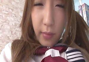 Sana Anzyu toy be hung up on say no to snatch then gives a sloppy blow job - More elbow Slurpjp.com