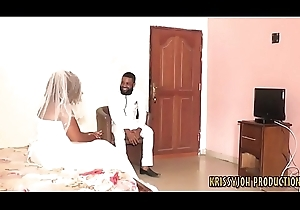 Bride Fucked by Ex Swain on Her Bridal Old hat modern - NOLLYPORN