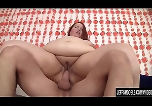 Redheaded Fatty Bailey Dreamboat Enjoys Getting Fucked by a Long Dick