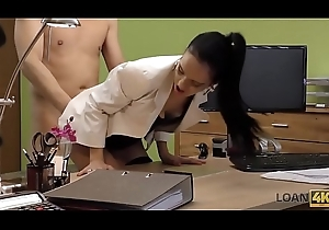LOAN4K. Petite son pays hither sexy carnal knowledge be fitting of wage increase with regard to office