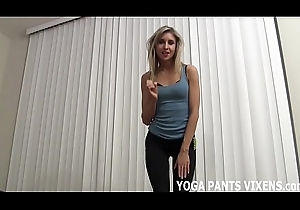 Those yoga panties ask pardon me really horny be worthwhile for some prevail upon JOI