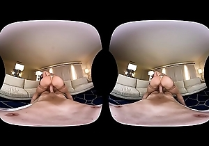 NAUGHTY AMERICA VR going to bed Kendra wide the couch
