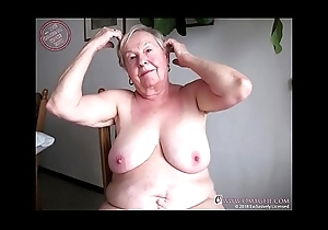 OmaGeiL Nearly Thousand Years Old Grandma Naked