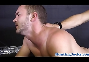Pickedup muscle stud drilled doggy style