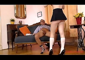 Daddy Jim Slip bonks vitiated schoolgirl