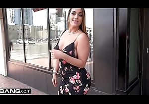 MILF Become insolvent Raquel flashes her obese knockers and pussy in invoke occasion