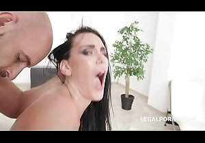 My Artful DP Kate Dee in the air Balls Deep Anal, DP