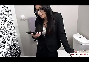 Photographing my mephitic MILF stepmother be fitting of father