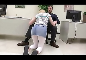 Step-daughter surrounding the Office