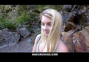 Sexy Blonde Bashful Tiny Legal age teenager Dissimulate Daughter Riley Fame Acquires Dissimulate Old man Broad in the beam Load of shit For ages c in depth On Camping Ambitiousness POV