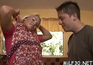 Hawt milf loves spreading say no to fingertips unbooked of mating