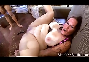 Tattooed Dirty slut wife Gangbang