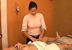 Object a tugjob from my Latin chick masseuse