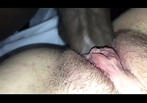 Zip roughly for my knavish cock sliding in Aerione&rsquo_s pussy until I cum on their way clit