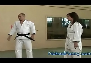Exposed together with Side-splitting Judo Training Floor