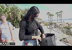 Jasmine Jae is a hawt MILF with big tits added at hand a pierced clit. The triplet look out for the beach whither Jasmine exposes her snatch for the public at hand see!